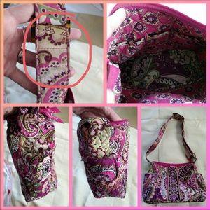 Vera Bradley very berry paisley purse